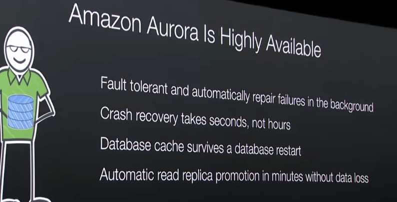 Amazon Aurora, a New Distributed Relational Database from