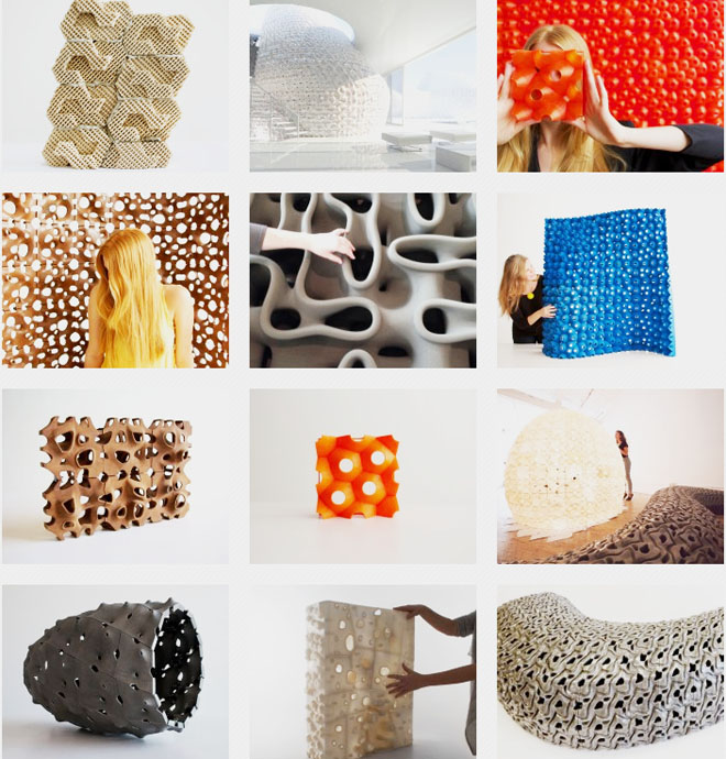 Emerging objects 3d printing pioneers will build houses for Waste material object