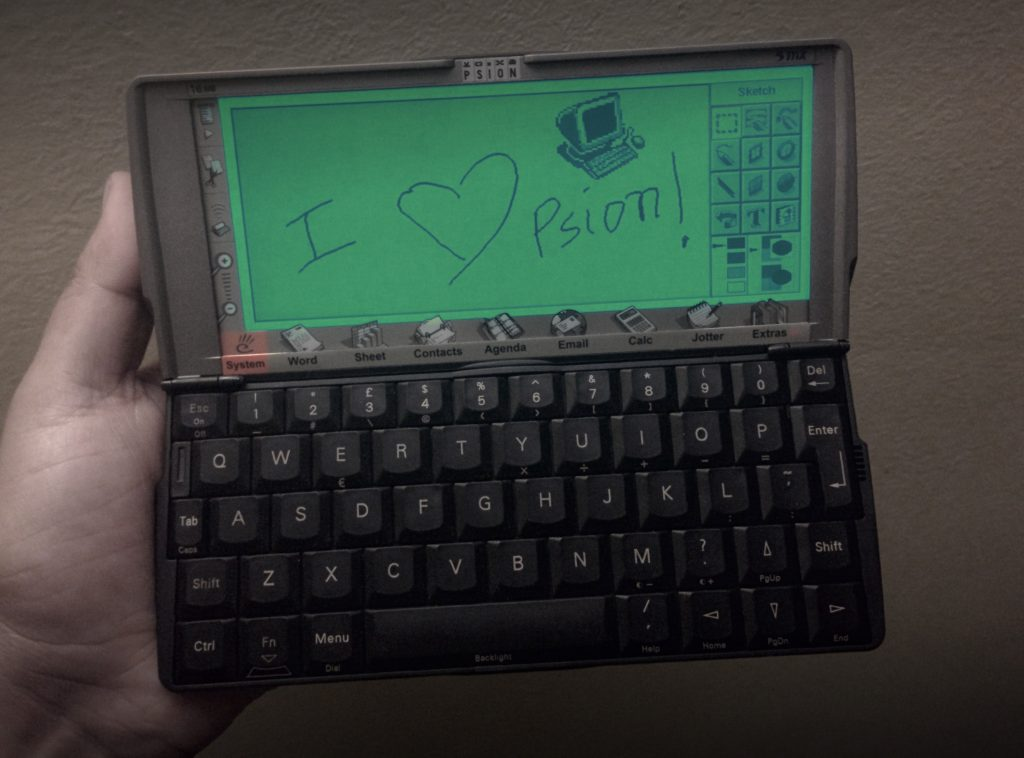 Retrocomputing in Modern Times: Rediscovering the Psion Series 5mx