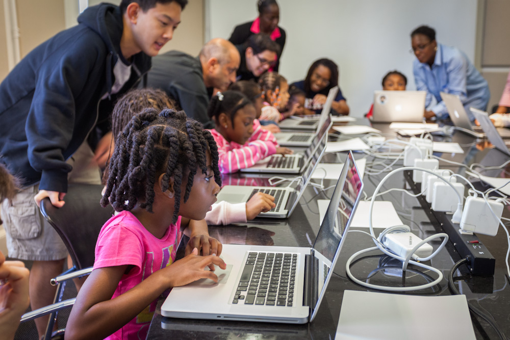 Black Girls Code NYC Event, 2014