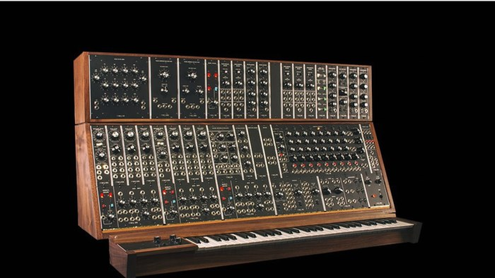 Moog brings back the System 55, seen here with optional keyboard.
