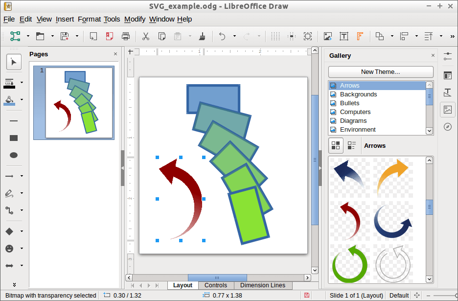 Designing With Libreoffice Preparing Images In Graphics Editors