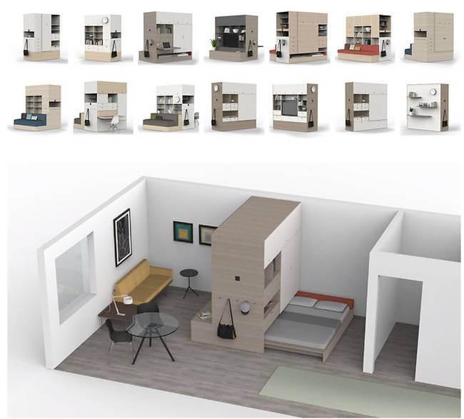 shapeshifting programmable robotic furniture maximizes