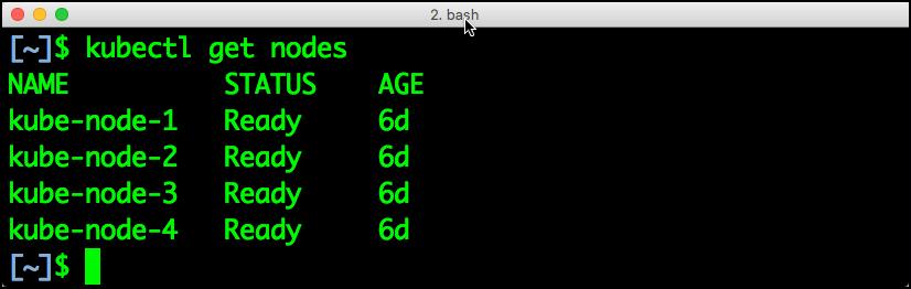 Kubernetes-get-nodes