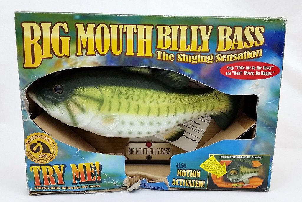 A singing fish points the way to the future of user for Big mouth billy bass singing fish