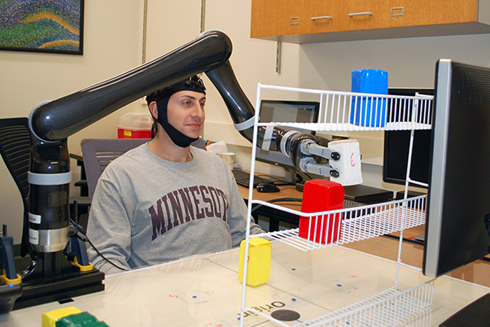 How to Control a Robotic Arm with Your Mind, by Using Machine