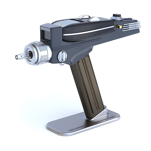 Star Trek phaser -shaped TV remote