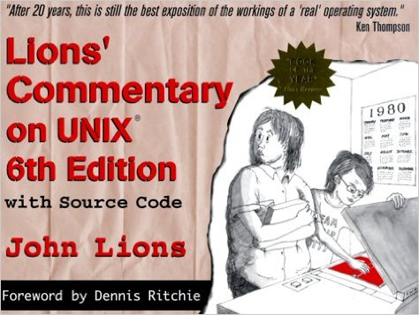 Lions' Commentary on Unix 6th edition
