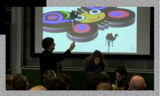 Shadow puppets from Perl 6 non-musical play (from video)
