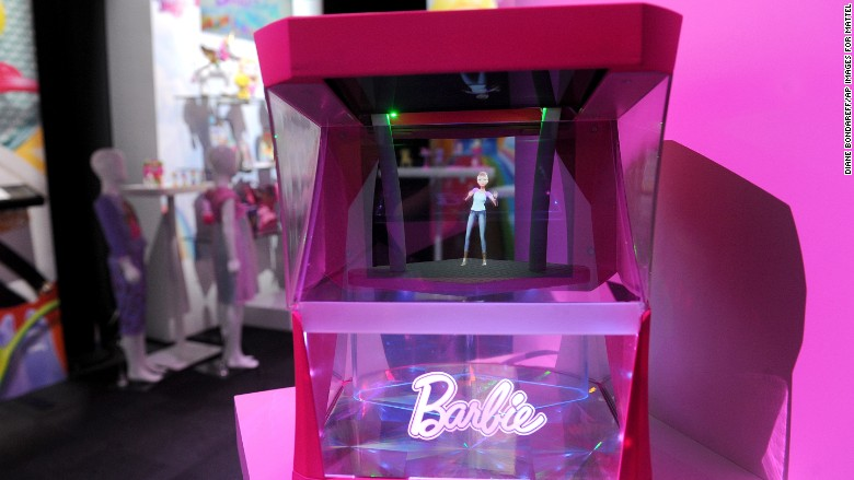 Hologram Barbie