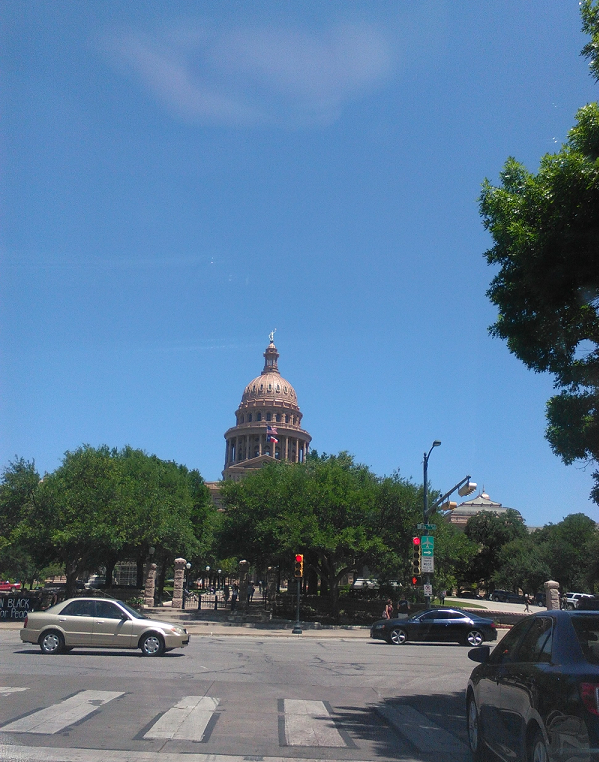Austin state capitol - by David Cassel.
