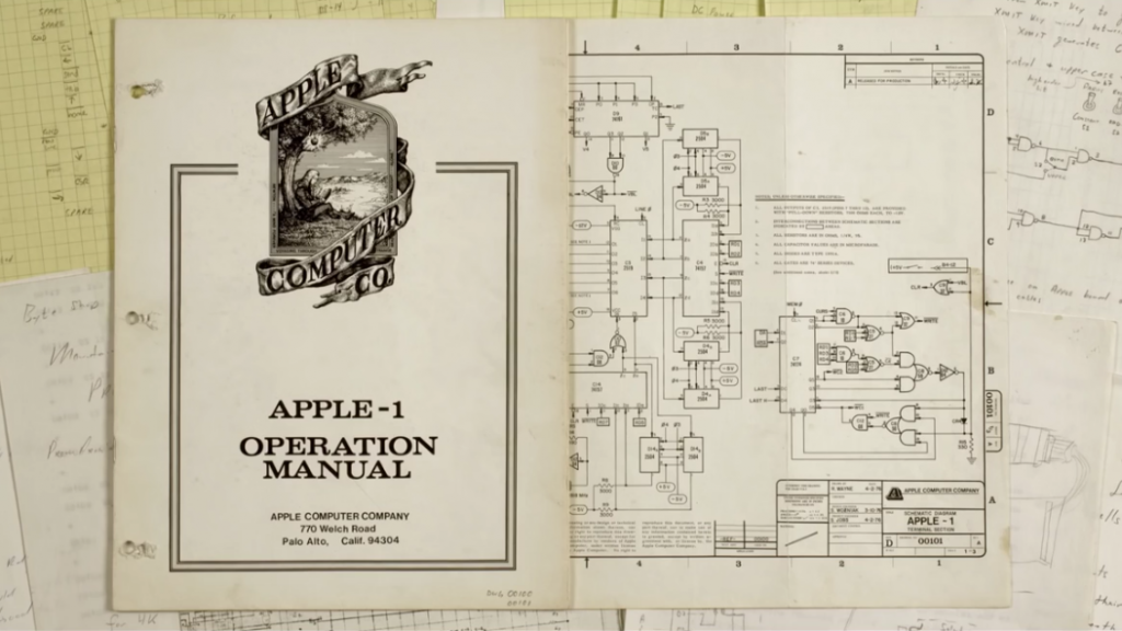 Apple 1 manual
