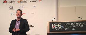 Steven Willmott presenting at APIdays Australia