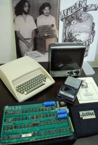 eBay auction of Apple 1