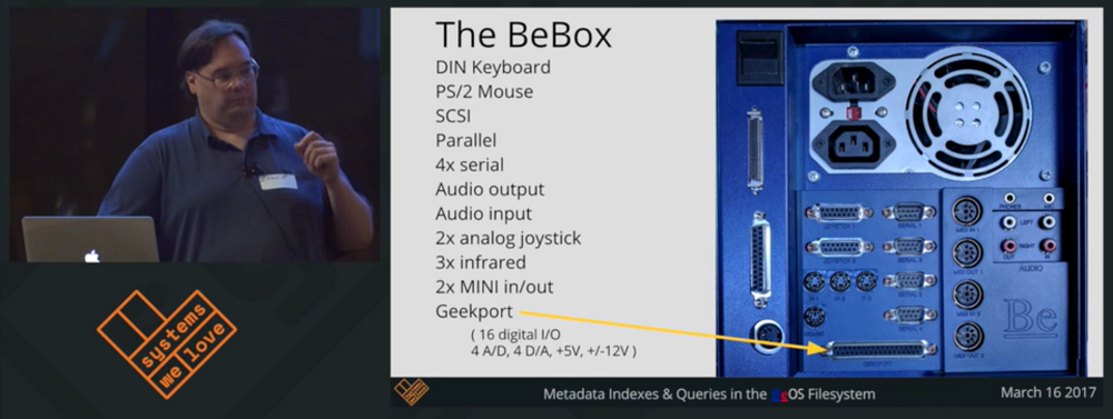 Metadata Indexes & Queries in the BeOS Filesystem Ivan Richwalski