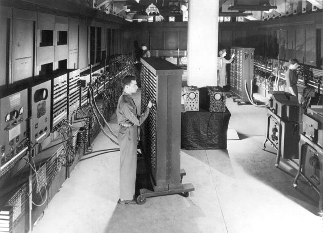 Classic shot of ENIAC