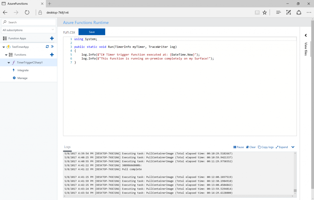 Microsoft Debuts Azure Functions for In-House Use, Adds Telemetry to