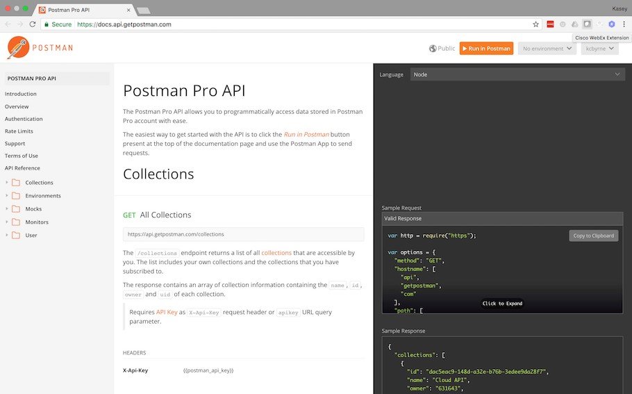 Postman 5 screenshot