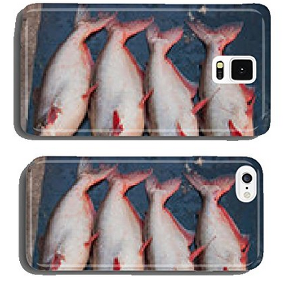 Fresh pangasius in the market, Thailand market. cell phone cover case Samsung S5