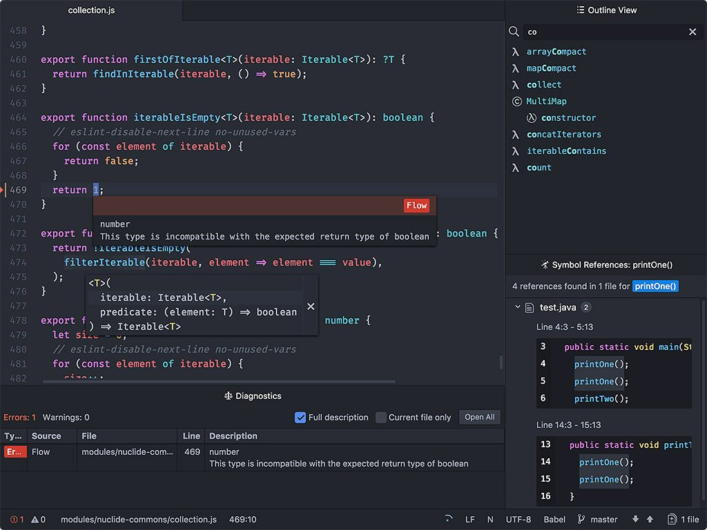 GitHub's Atom Text Editor Gets a Full IDE - The New Stack