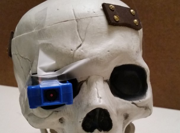 Off-The-Shelf Hacker: Machine Vision Meets the Robotic Skull