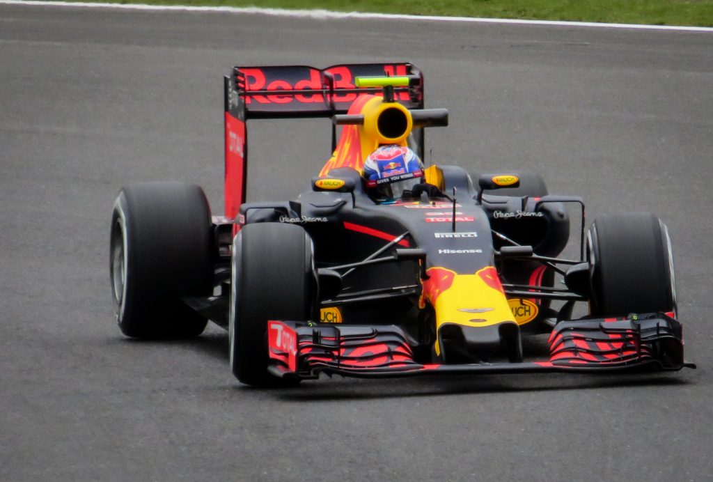 Red Bull formula 1 race car