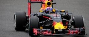 Red Bull formula 1 race car