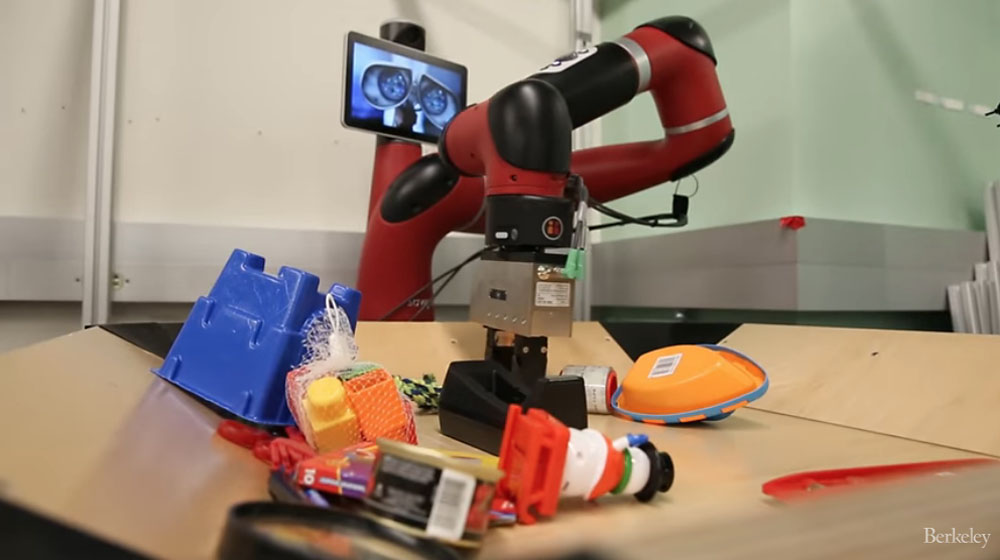 This Robot Can Visualize Its Immediate Future with Deep