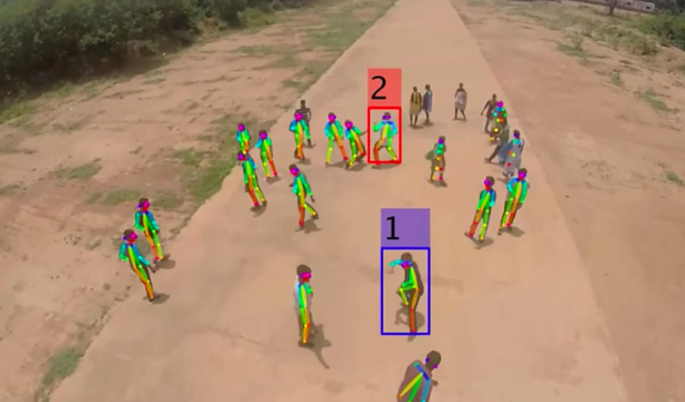 Deep Learning Drone Detects Fights, Bombs, Shootings in