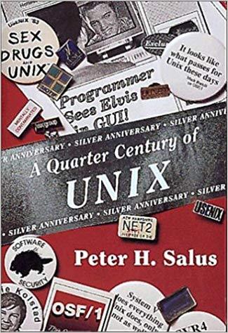 A Quarter Century of UNIX book cover