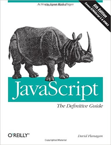 Oreilly JavaScript book cove