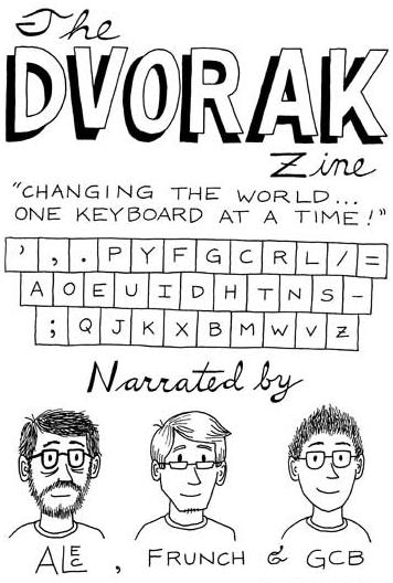 Screenshot of The Dvorak zin