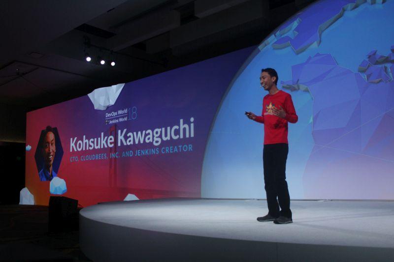 DevOps World 2018: 'Jenkinstein' and a Cloud Native Jenkins