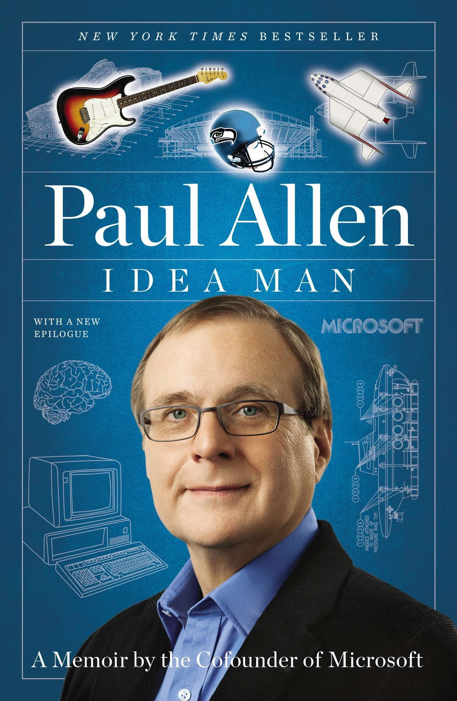 Paul Allen book cover - Idea Man