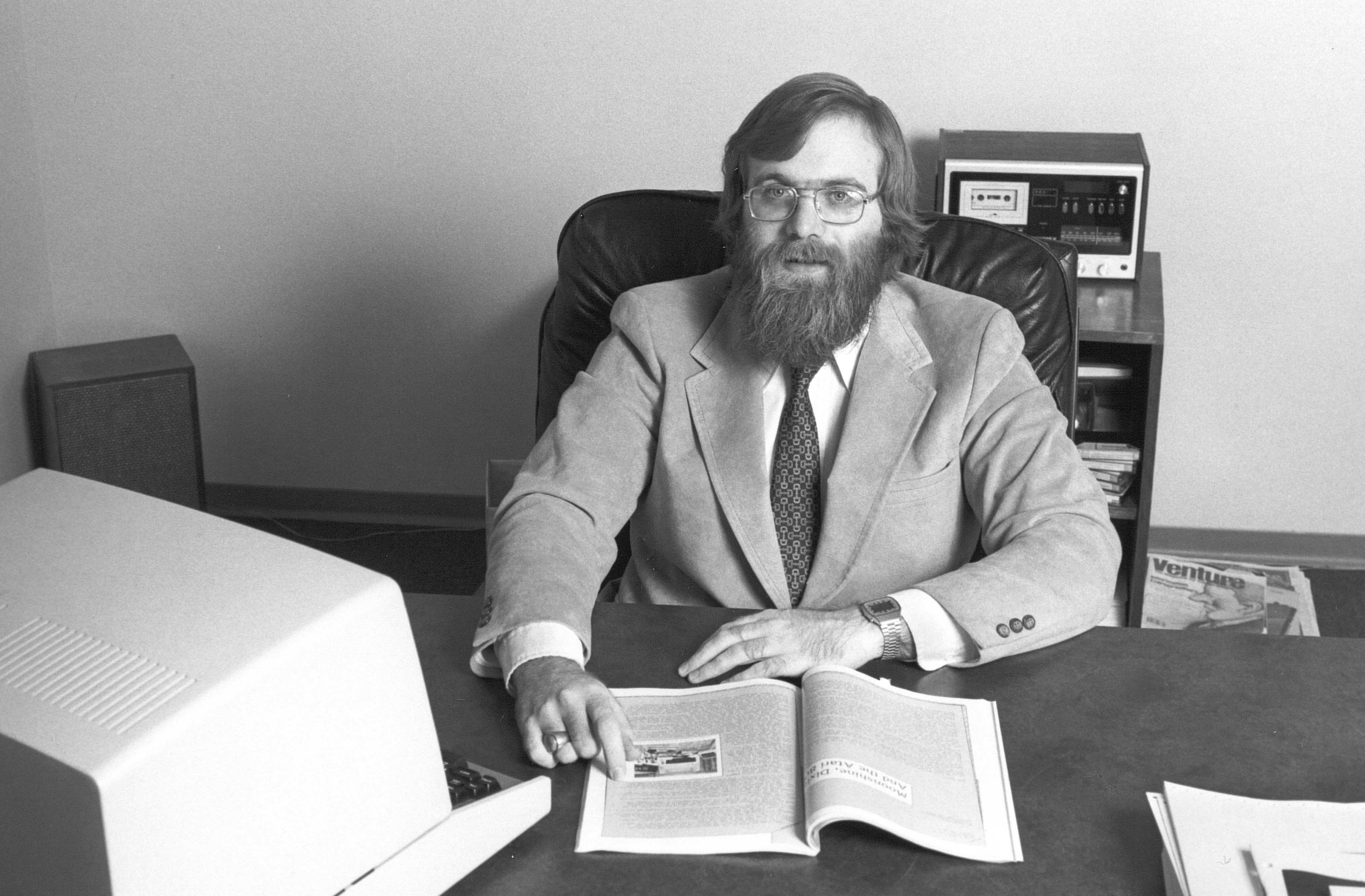 Young Paul Allen (via Microsoft blog)