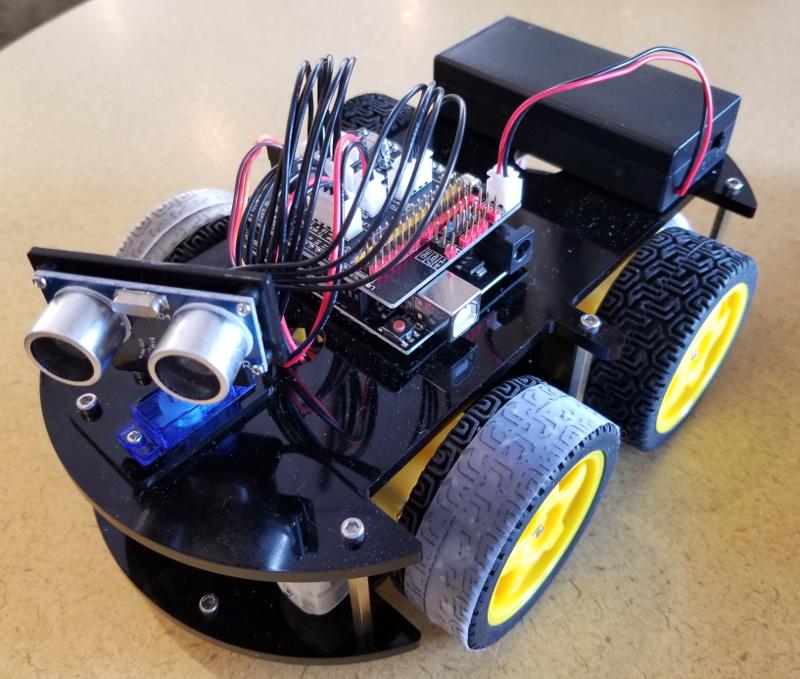 Smart Car Kits >> Off The Shelf Hacker A Look At The Elegoo Smart Robot Car Kit The