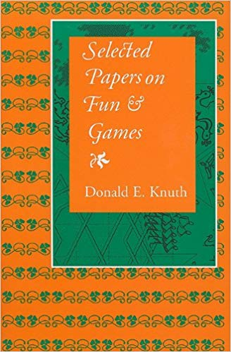 Selected Papers on Fun and Game