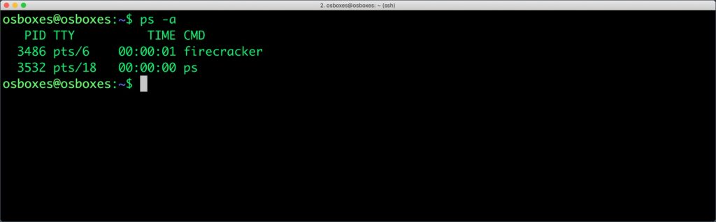 Tutorial: Getting Started with Firecracker on VMware Fusion