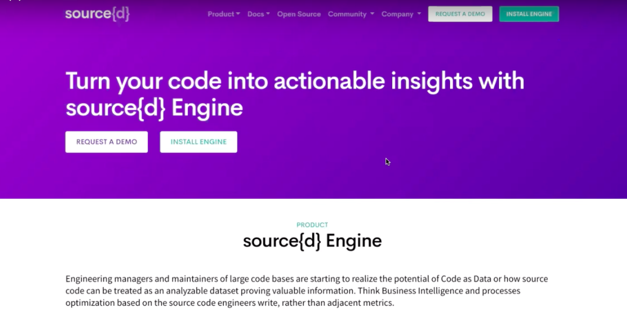 Demo: Source{d} Shows What Source Code Can Reveal