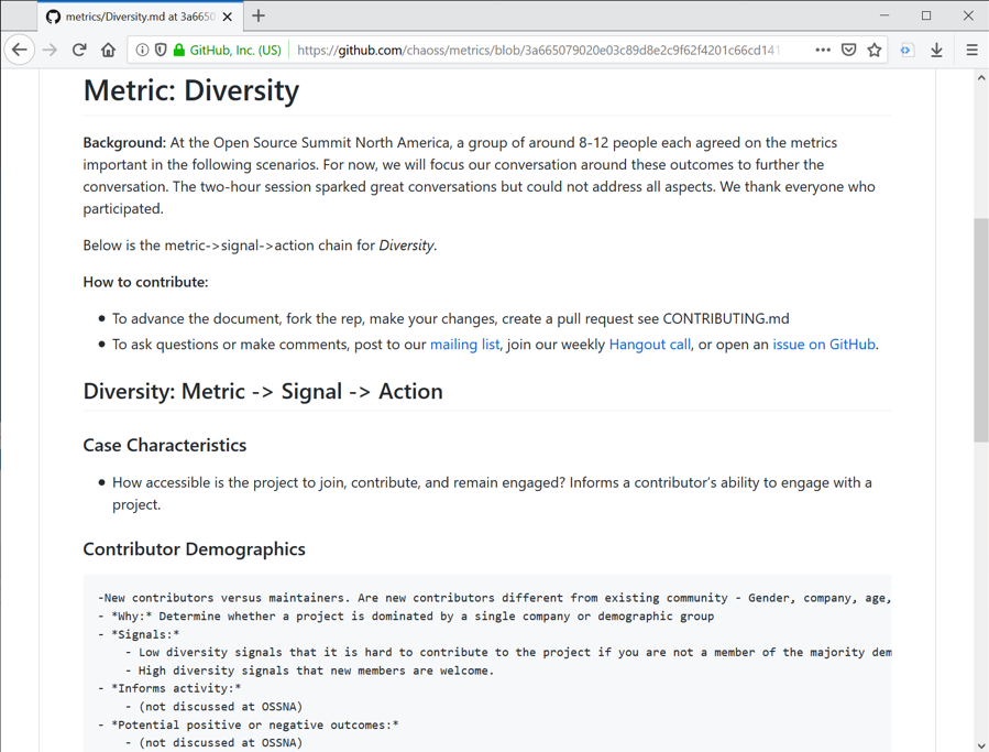 How CHAOSS D&I Can Help Diversity in the Open Source Community – 0-0x