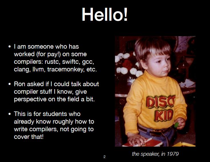 Rust Creator Graydon Hoare Recounts the History of Compilers