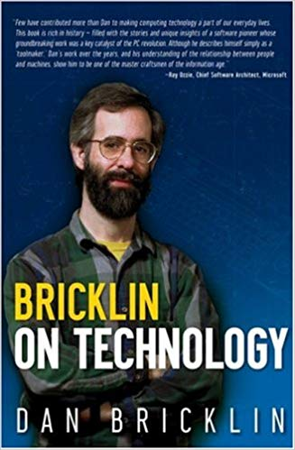 Dan Bracklin biography 'Bricklin on Technology' via Amazon