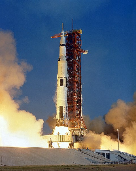 Apollo 11 launch photo