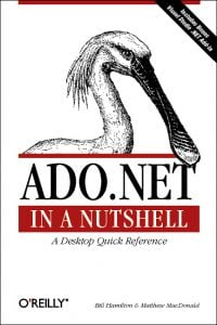 ADO dot net in a nutshell - OReilly book cover (via their site)