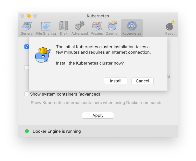 How to Install Docker Desktop (with Kubernetes) on MacOS