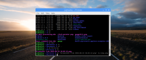Raspberry Pi terminal window