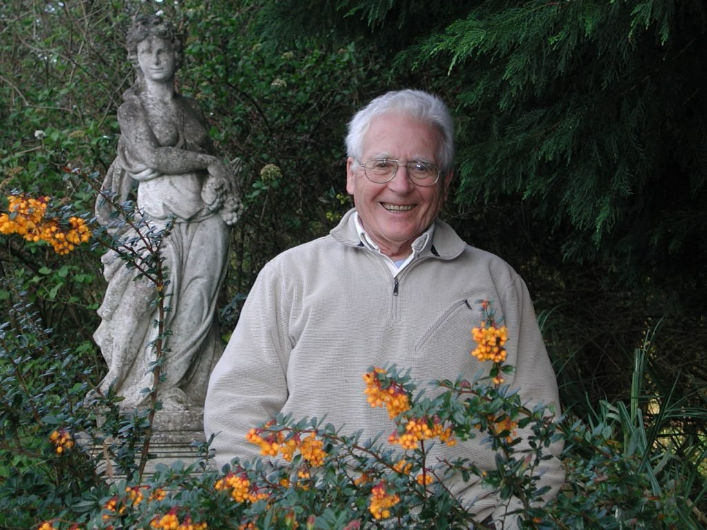James Lovelock in 2005 by Bruno Comby via Wikipedia