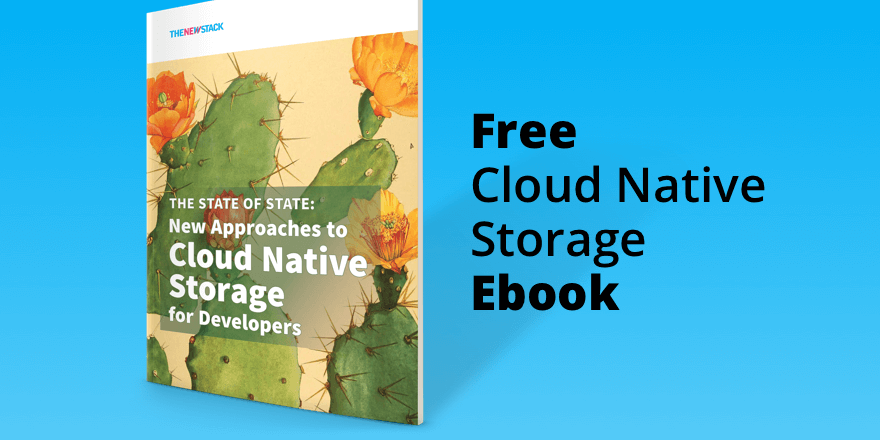 Free cloud native storage ebook graphic