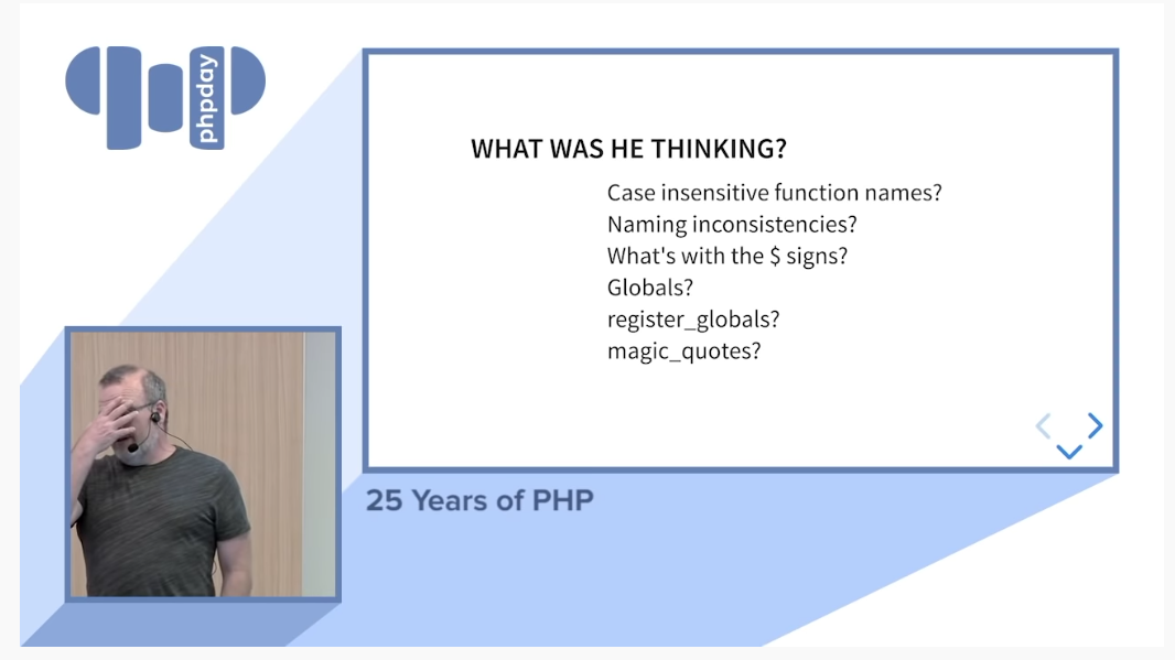 creenshot-from-25-years-of-php-rasmus-lerdorf-talk-at-phpdays-2019-what-was-he-thinking