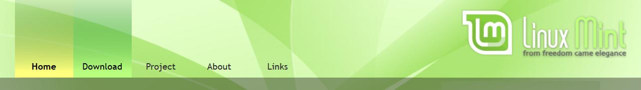 Linux Mint download link